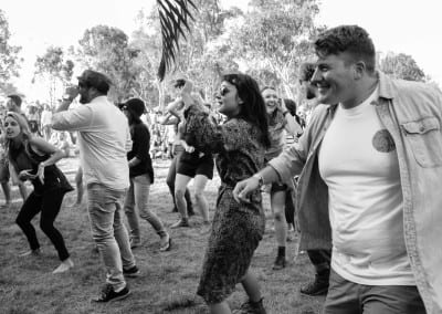 MMVAF: Crowd dancing at The Francis Wolves