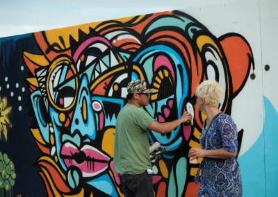 MMVAF: Visual art in action