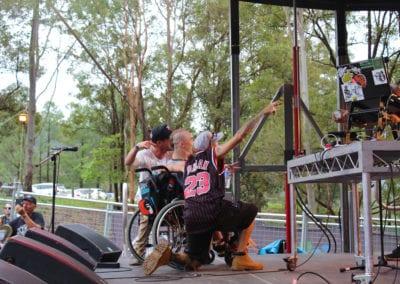 Red Deer Festival: MC Wheels